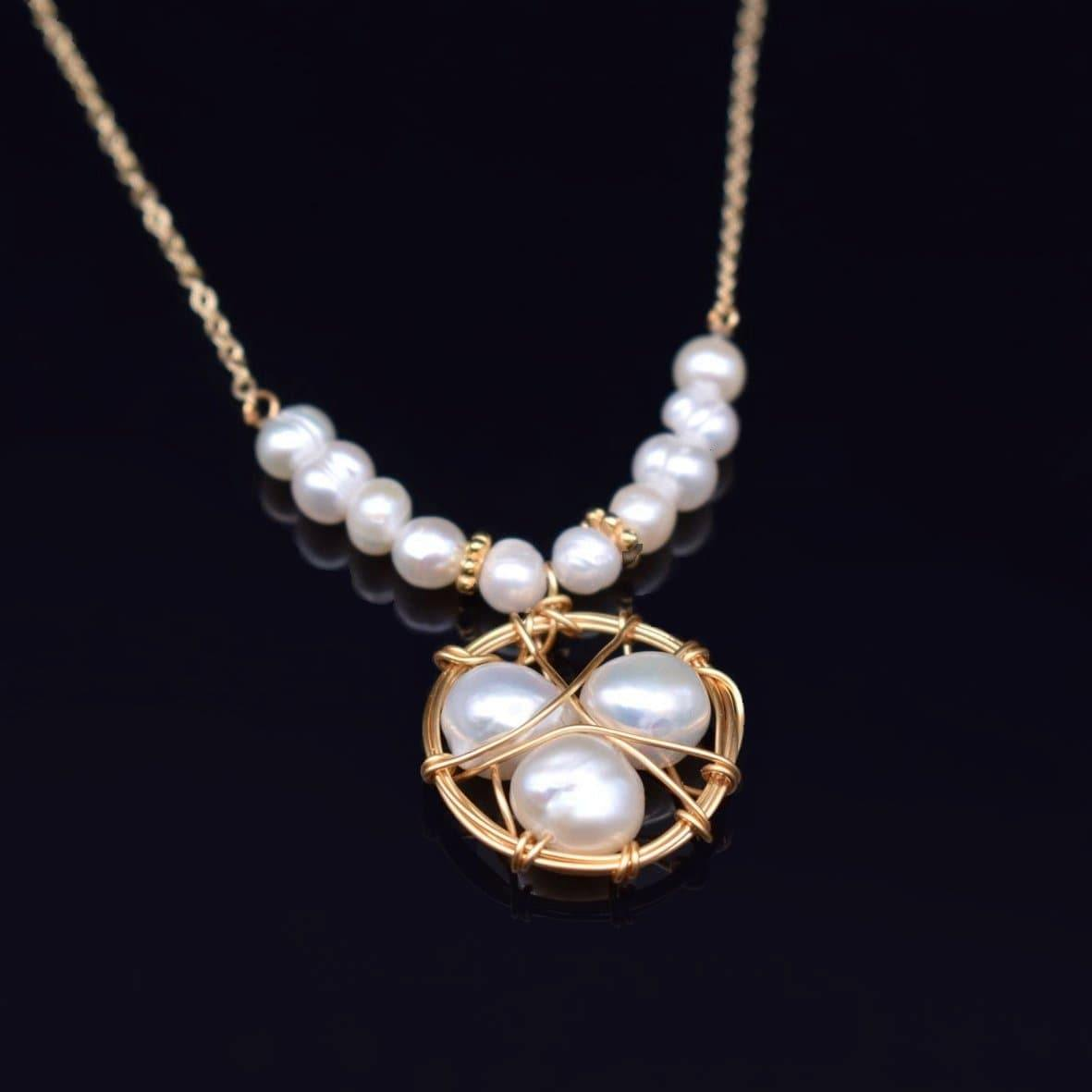 Baroque Pearl Necklace - Lizbeth