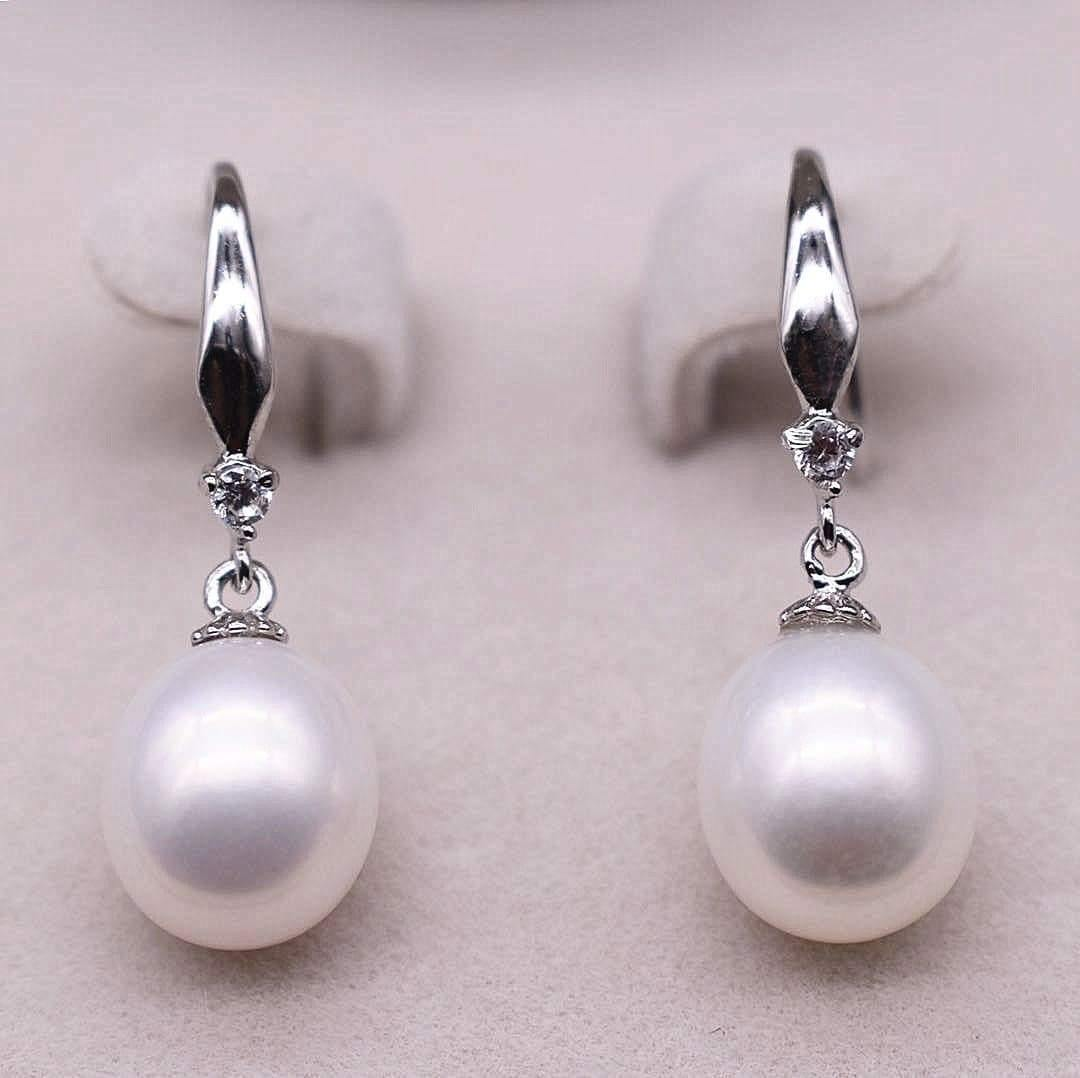 Freshwater Pearl Earrings - Lexus - Akuna Pearls