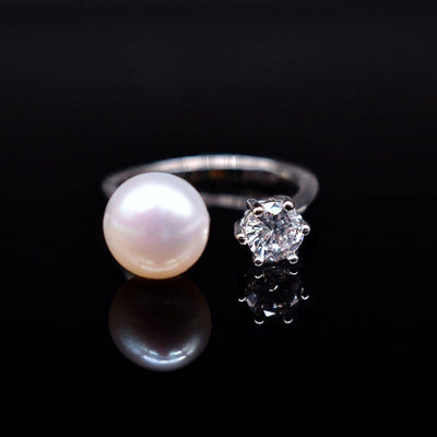 Freshwater Pearl Open Ring - Ada