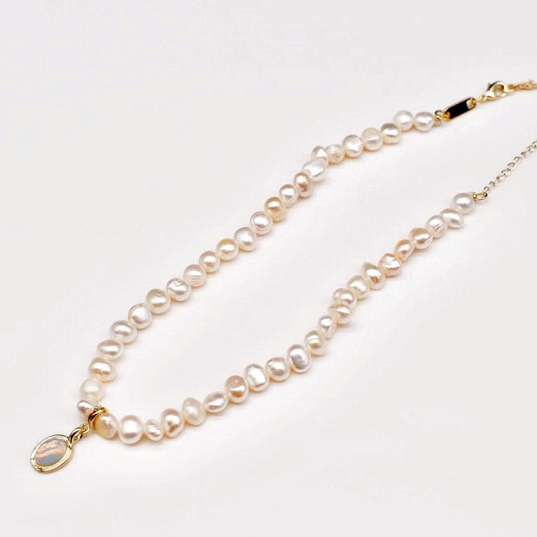 Baroque Pearl Choker Necklace - Vallea - Akuna Pearls