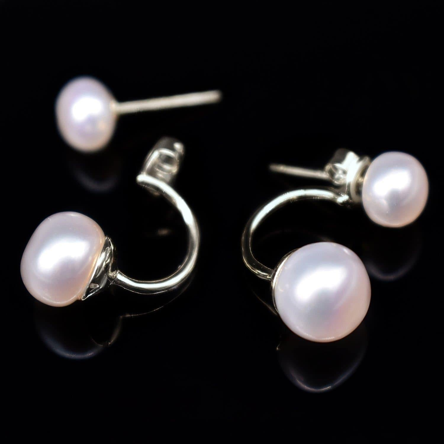 Freshwater Pearl Earrings - Dara | Akuna Pearls | Freshwater Pearl Jewellery | Made in Australia