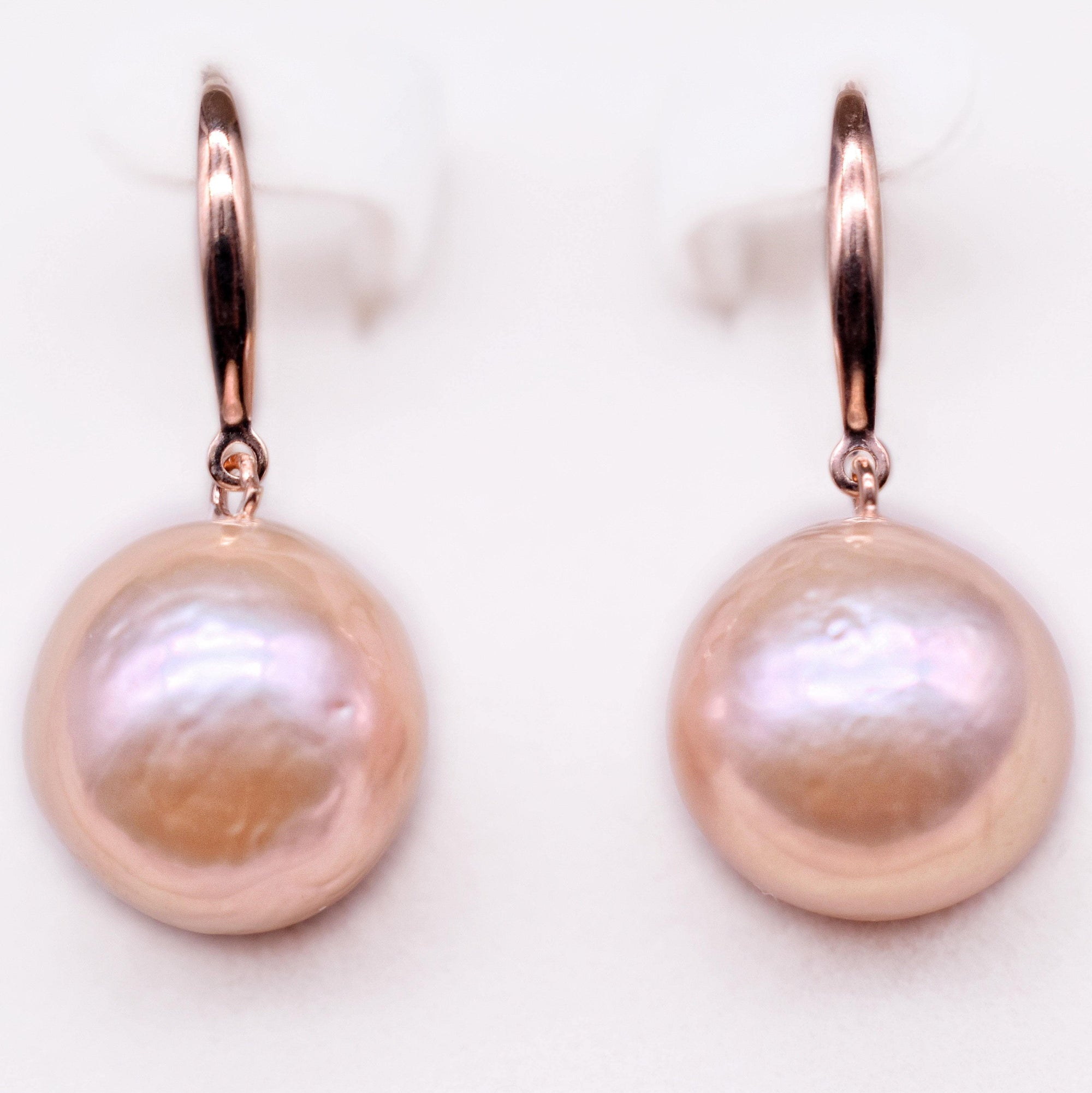 Baroque Pearl Earrings - Esmeralda - Akuna Pearls