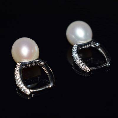 Freshwater Pearl Earrings - Bucket | Akuna Pearls | Freshwater Pearl Jewellery | Made in Australia