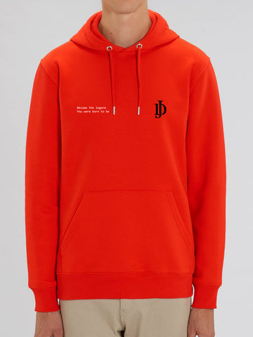 Sweatshirt Red JD