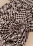Gingham Set-Brown