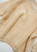 Chunky Sweater Knit Cream