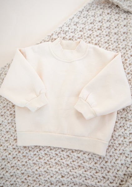 Sweatshirt-Cream