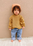 Chunky Sweater Knit Mustard