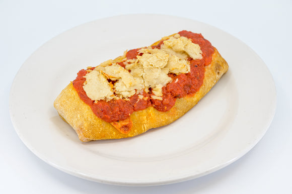 Calzone - Vegan Cheese and Marinara Sauce