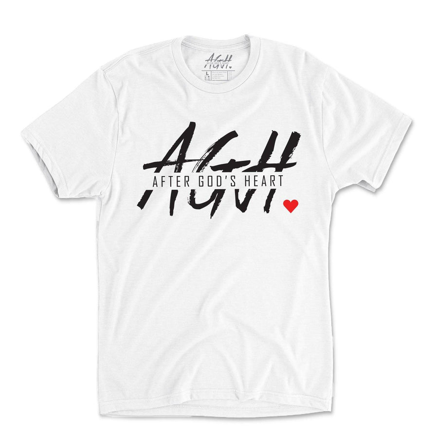 AGH Tee - White - AGH Apparel