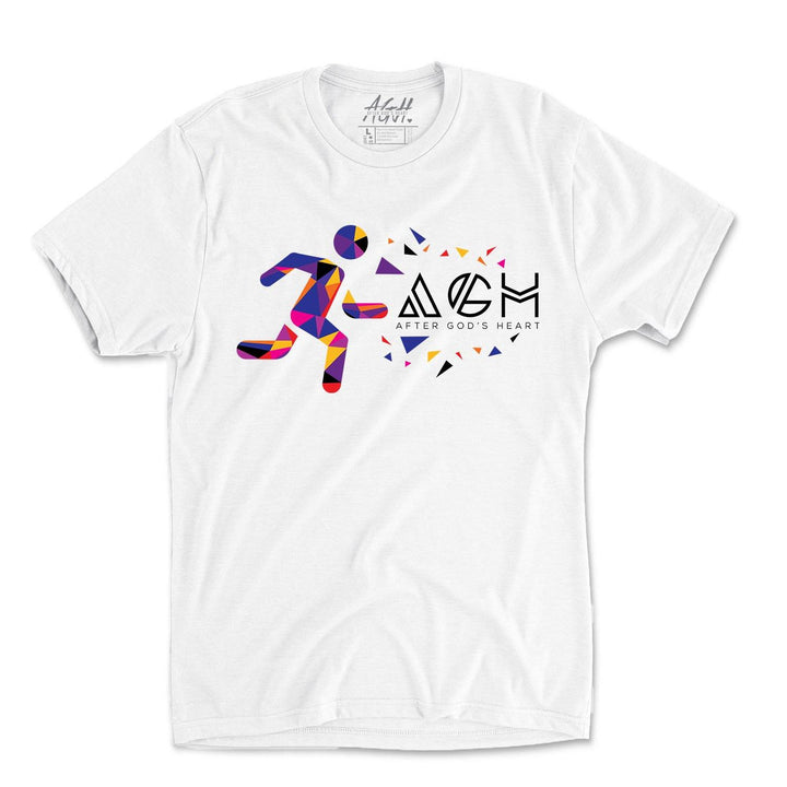 AGH Aztec Tee - White - AGH Apparel