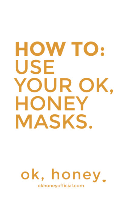 How To: Apply Your Natural Peel-Off Masks