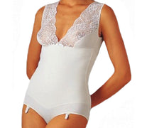 Dr Gibaud - Body contura Donna - Spalline larghe - Pizzo