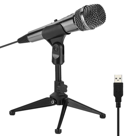 M30——Condenser Usb recording Microphone with Adjustable stand
