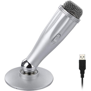 VK—— computer mac laptop magnetic design USB condenser microphone