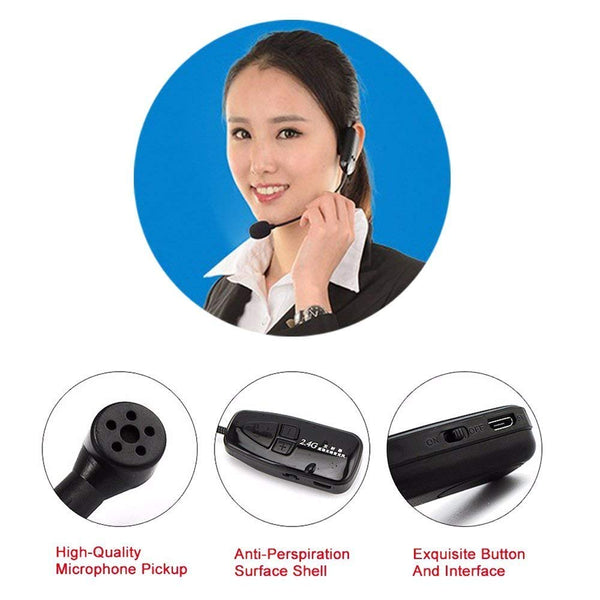 N80——2.4G Wireless Headset Microphone