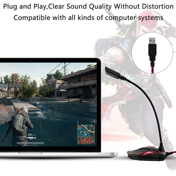 G55——Professional USB Gaming Microphone