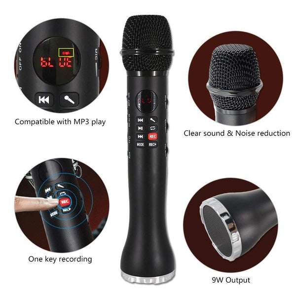 A4——3-in-1 Wireless Karaoke Microphone