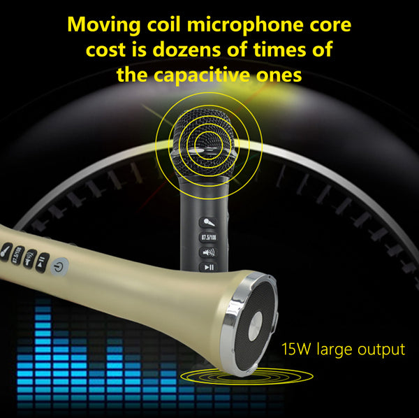 L-698—— 15W USB wireless Bluetooth karaoke microphone