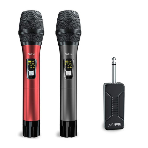 L18L——UHF Wireless Dual Handheld Dynamic Mic Set