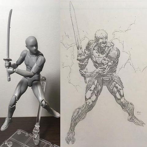 drawing figure body kun
