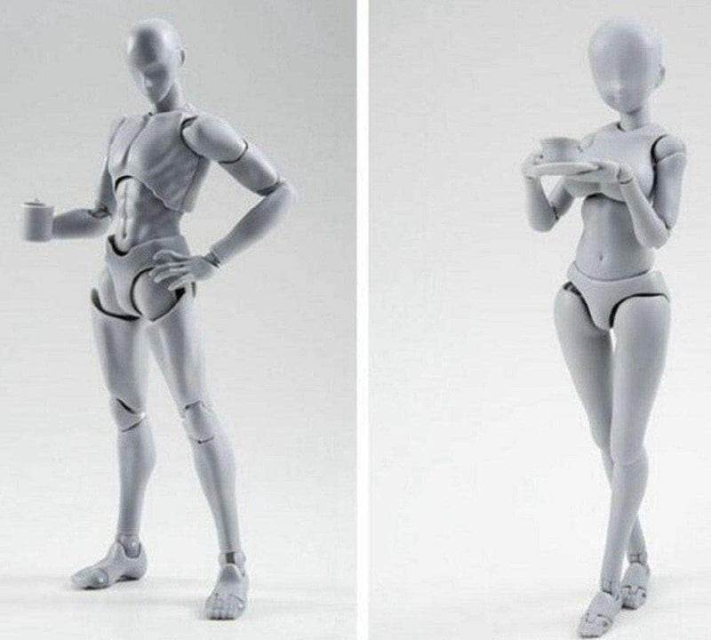 Body Kun + Body Chan - Takarai Rihito Ed. Models - Grey (2in1 Special Deal)