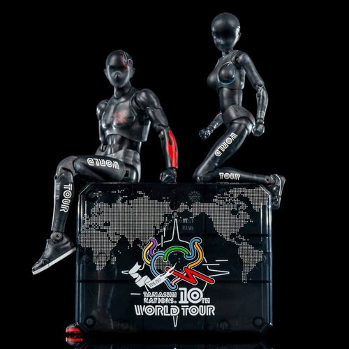Bodykun + Bodychan World Tour 3 Piece Limited Collector's Edition 2 in 1 Deal (with display stand)