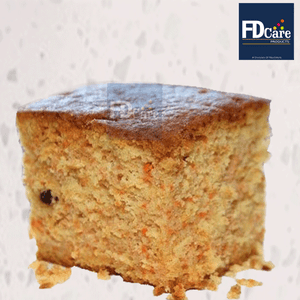 Carrot Cake 500 gm Pack - Food Care INDIA