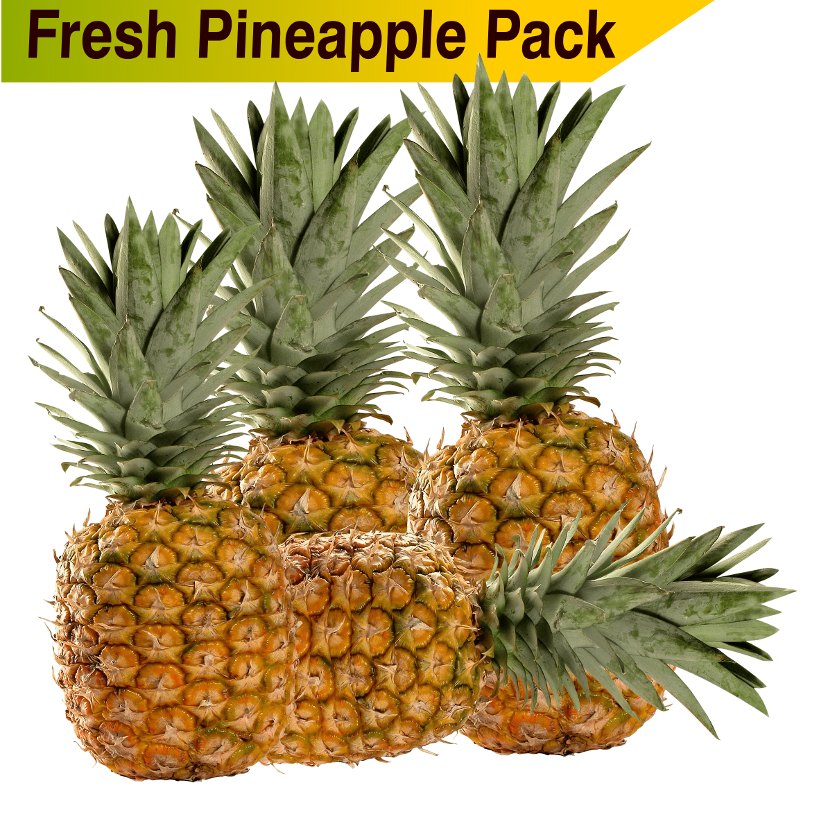 Pineapple  3-5.Kg Pack - Food Care INDIA