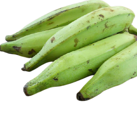Banana Nendran - Green  5 Kg Pack ( FPO Wayanad ) - Food Care INDIA