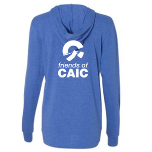 FoCAIC Long Sleeve Poly/Cotton Blend Lightweight Hoodie