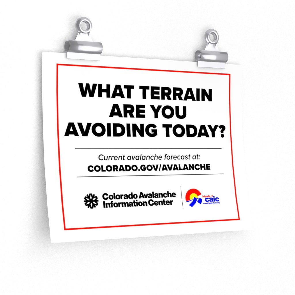 What Terrain Are You Avoiding Today?