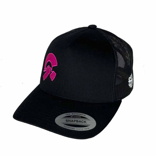 Friends of CAIC Trucker Hat Black/Magenta