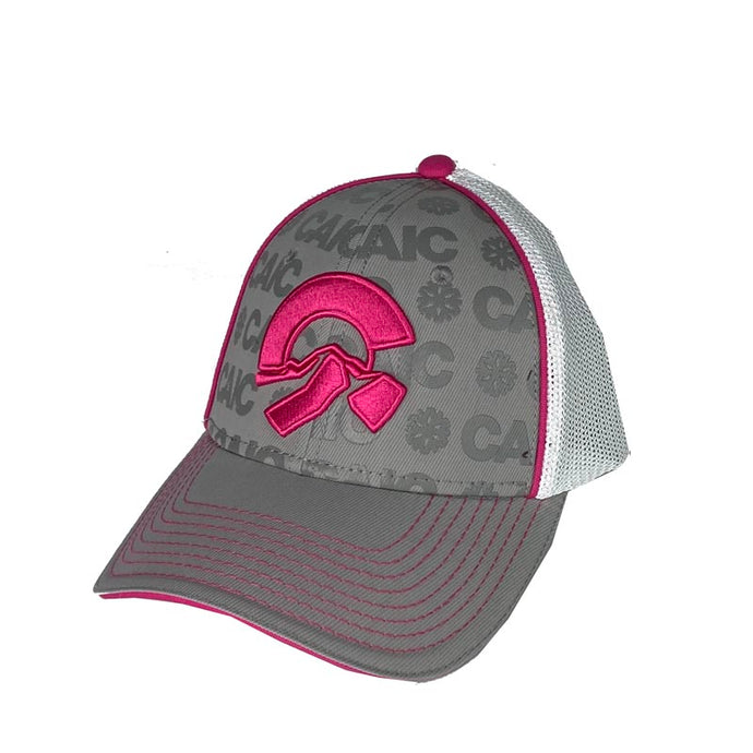 Friends of CAIC Trucker Hat White/Pink