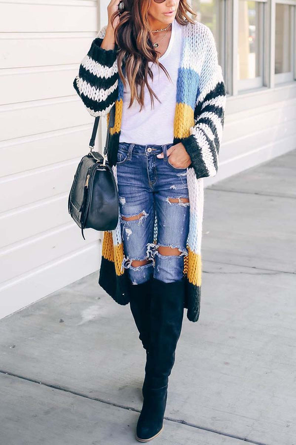 Lopolly Knitted Cardigan Sweaters