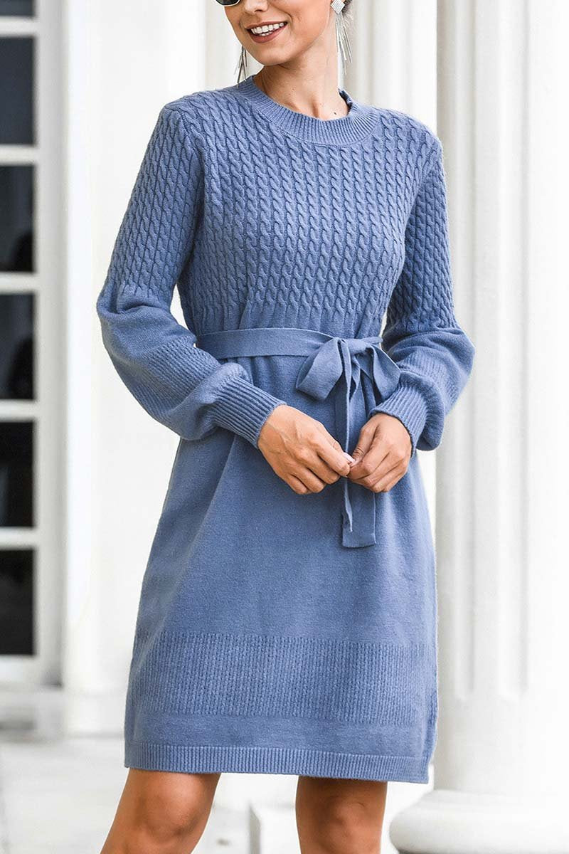 Lopolly Winter Knit Sweater Dress