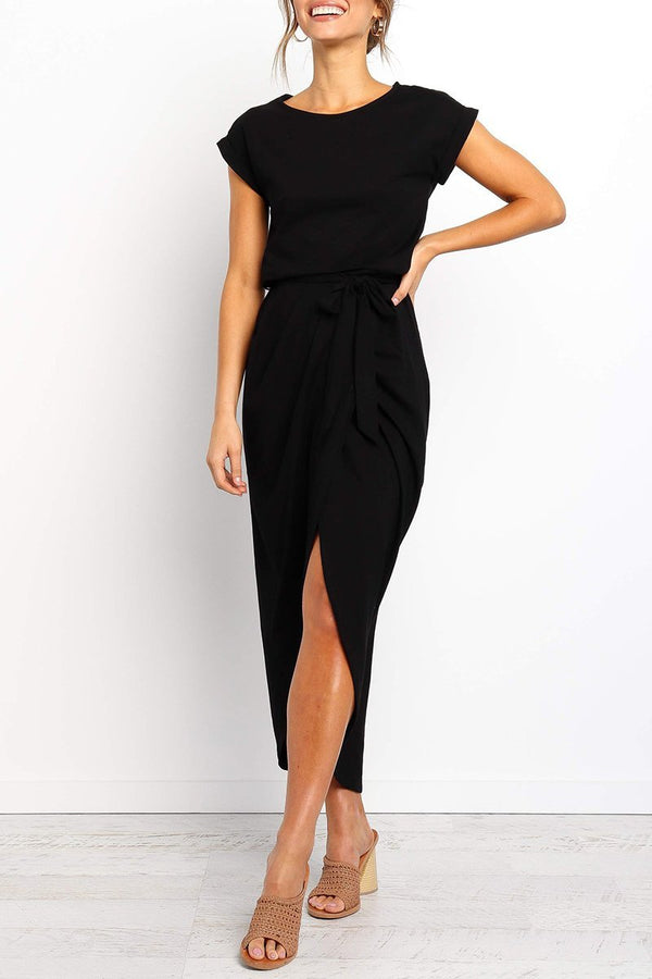 Lopolly After Midnight Ankle Length Dress(4 Colors Extra Offer)