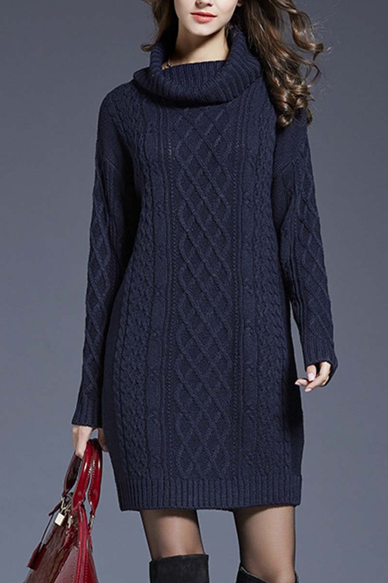 Lopolly Winter Knit Dress