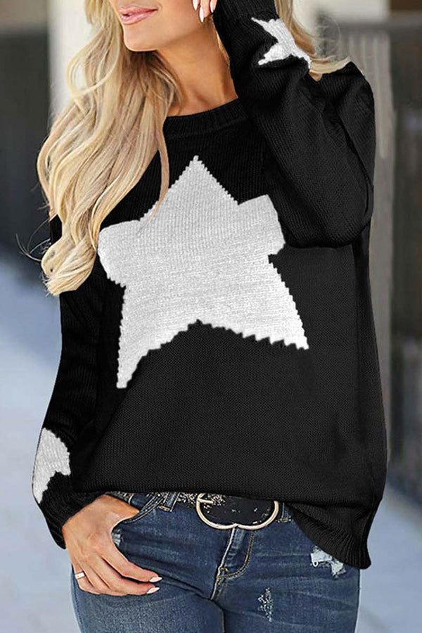 Lopolly Star Shaped Sweater 3 Colors