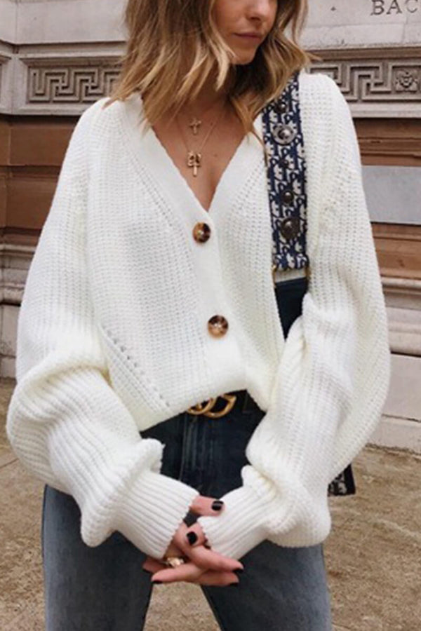 Lopolly Loose Cardigan Sweater