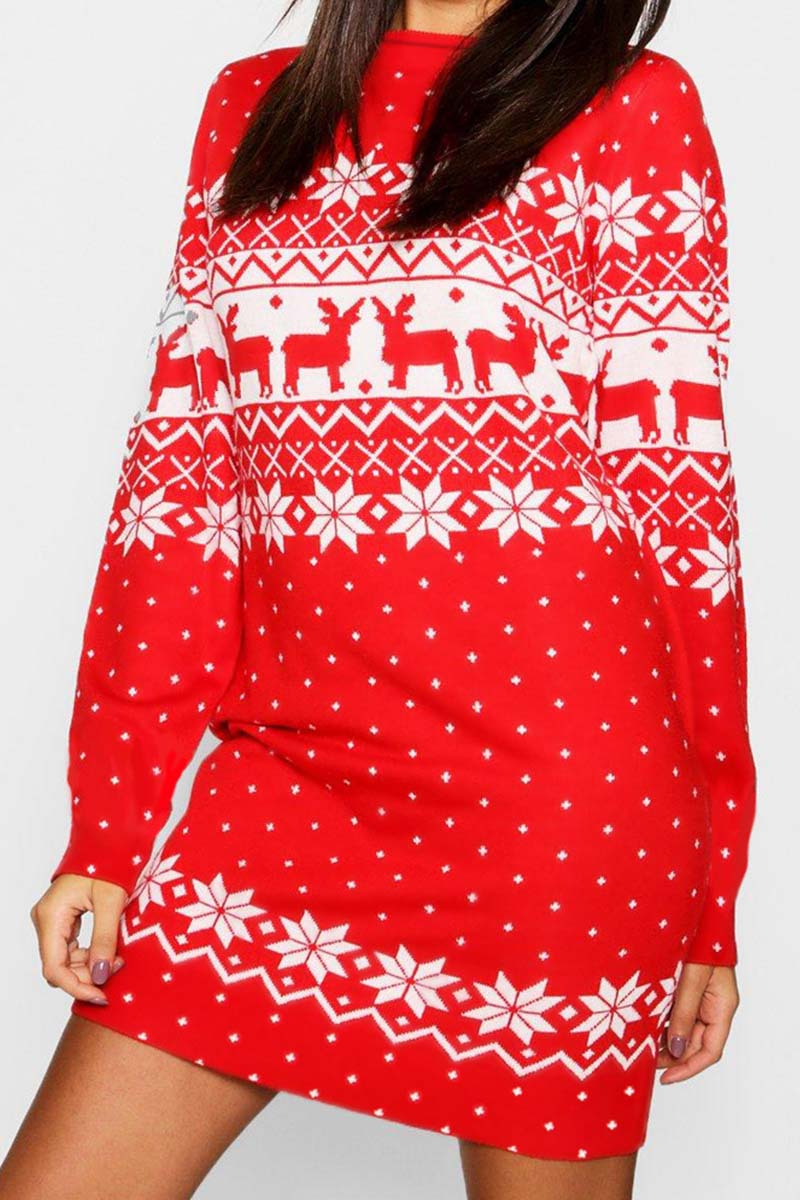 Lopolly 2019 Christmas Winter Dress