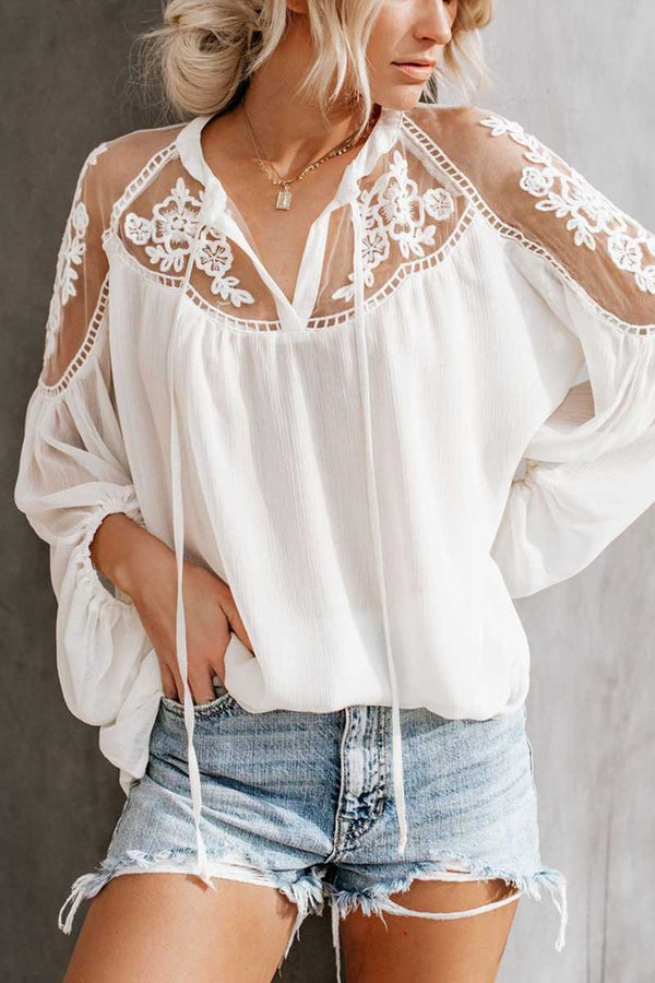 Lopolly Casual Chiffon Shirt