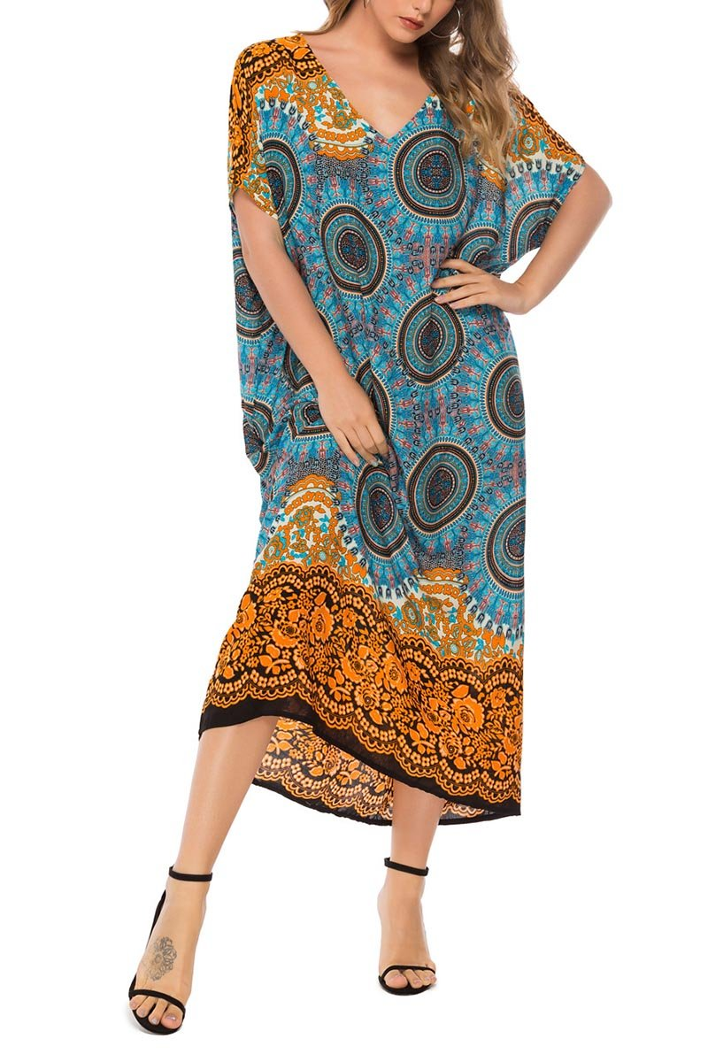 Lopolly Printed Loose Dress