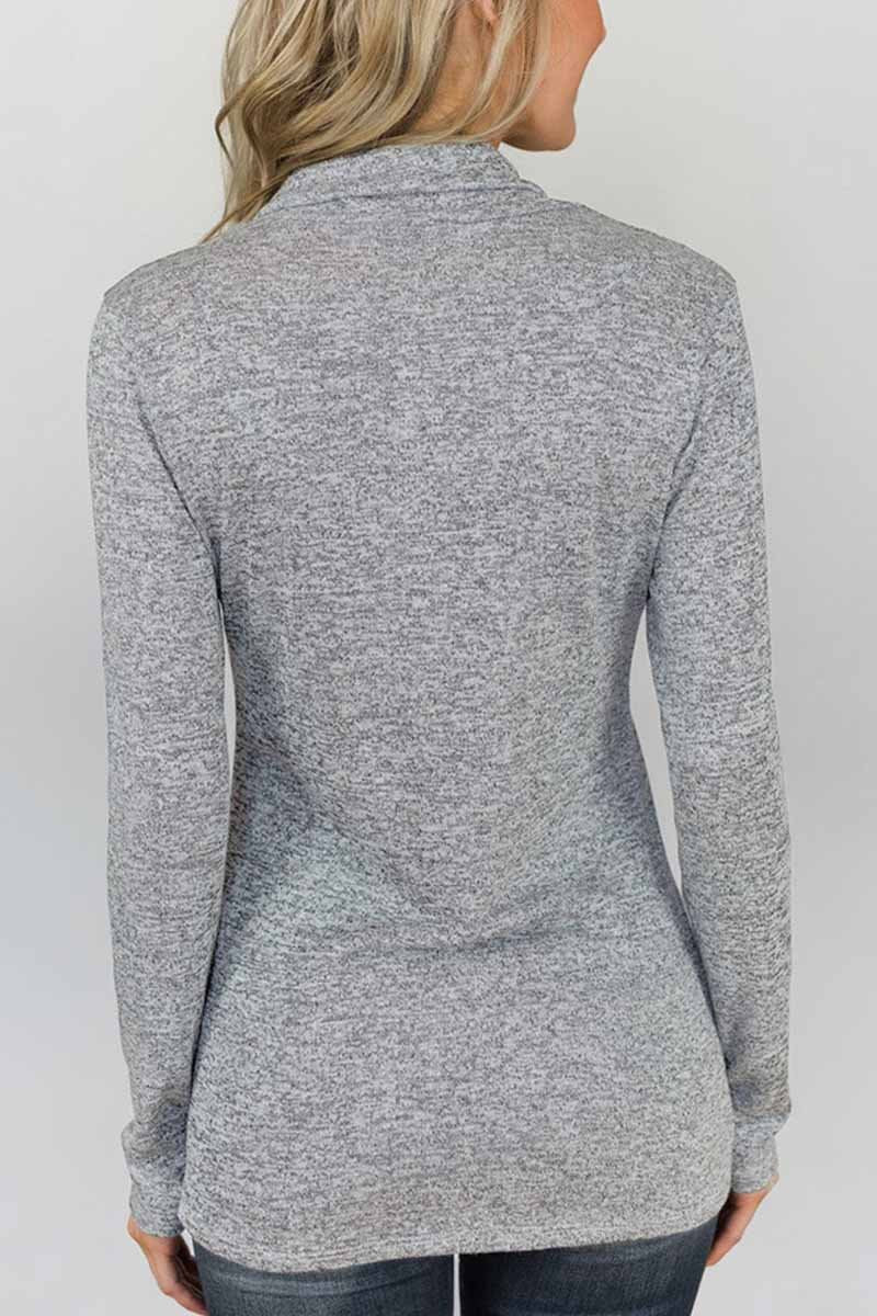Lopolly Slim Long Sleeve Tops