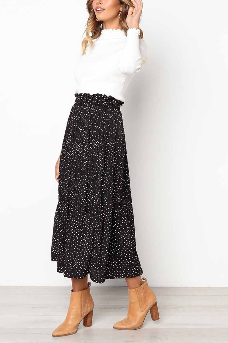 Lopolly Wild Polka Dot Skirt £¨3 Colors£©