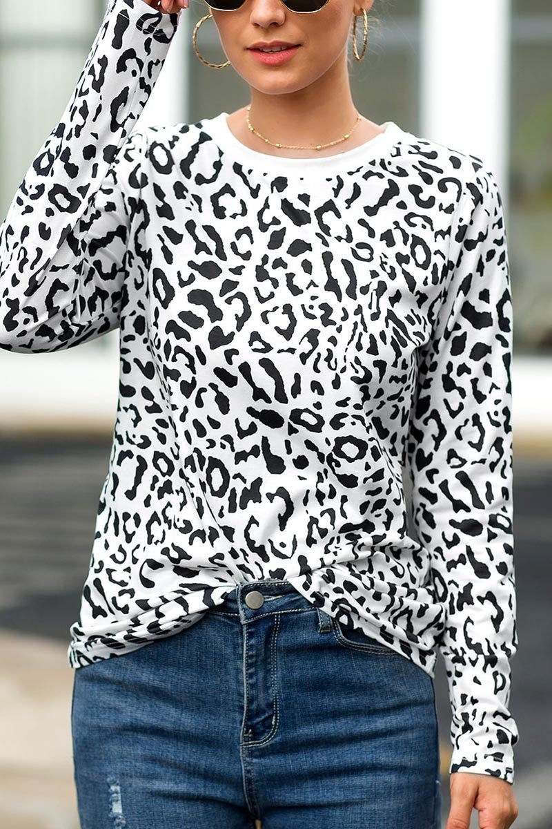 Lopolly Autumn Leopard Tops