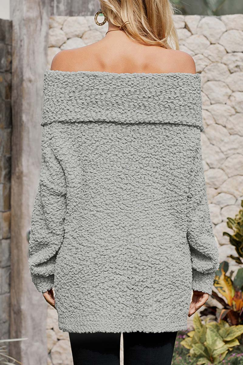 Lopolly Off Shoulder Sexy Sweaters