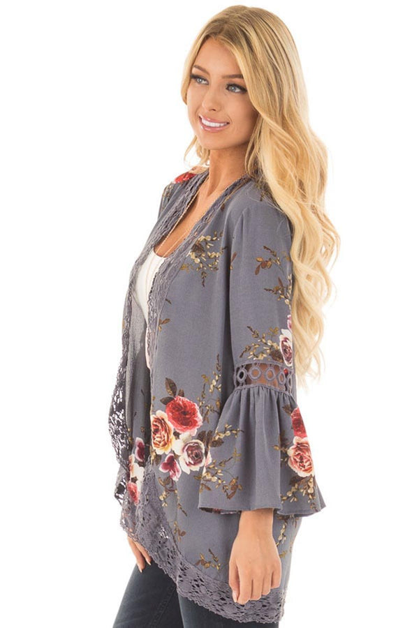 Lopolly Floral Lace Jacket