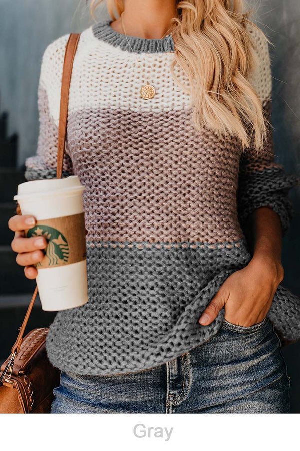 Lopolly Winter Knit Sweater 4 colors