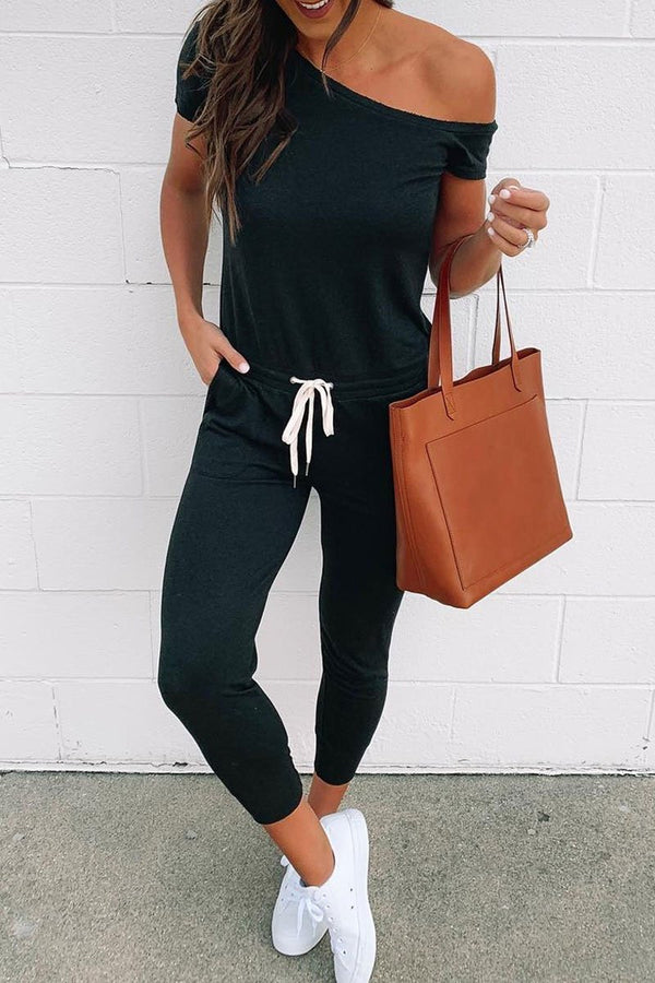 Lopolly One Shoulder Jumpsuit